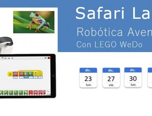 Taller. Safari Labs – Robótica y Aventuras con LEGO WeDo