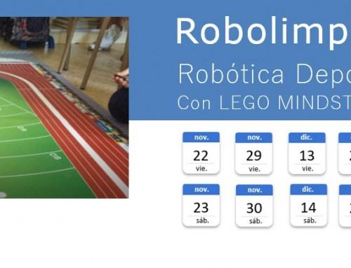 Robolimpiadas Labs – Robótica Deportiva con Lego Mindstorms EV3