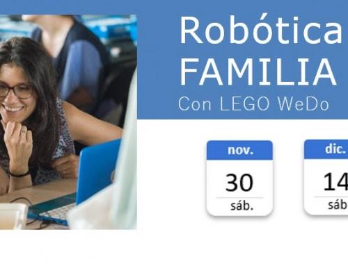 Robótica en Familia – Con Lego WeDo